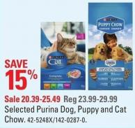 Purina Selected Purina Dog - Puppy and Cat Chow