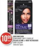 Hair Mascara Temporary Grey Cover Up - Color Ultîme or Root Retoucher Hair Colour