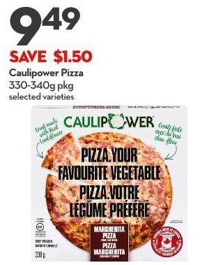 Caulipower Pizza 330-340g Pkg