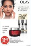 Olay Eye Brightening Cream or Regenerist Skin Care Products
