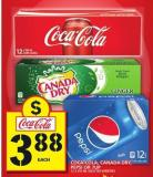 Coca-cola - Canada Dry.pepsi Or 7up