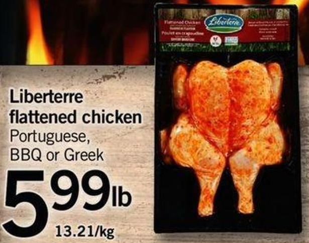 Liberterre Flattened Chicken