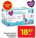 Parent's Choice Baby Diapers