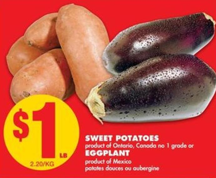 Sweet Potatoes Or Eggplant