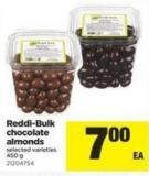 Reddi-bulk Chocolate Almonds - 450 g