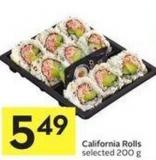 California Rolls Selected - 200 g