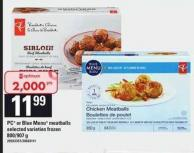 PC Or Blue Menu Meatballs - 800-907 g