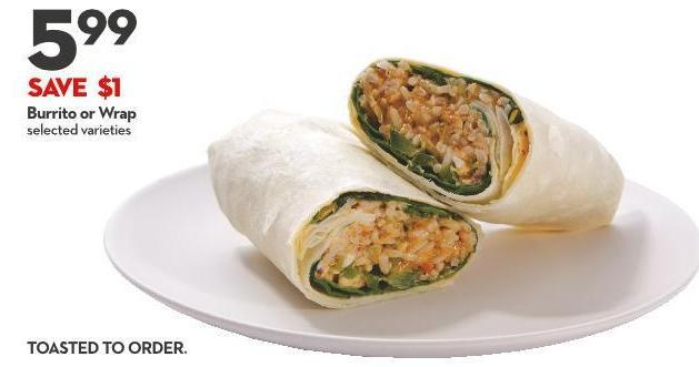 Burrito or Wrap