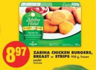 Zabiha Chicken Burgers - Breast or Strips - 908 g