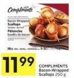 Compliments Bacon-wrapped Scallops 250 g