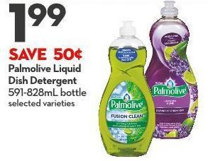 Palmolive Liquid  Dish Detergent 591-828ml Bottle