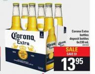 Corona Extra Bottles - 6x330 mL