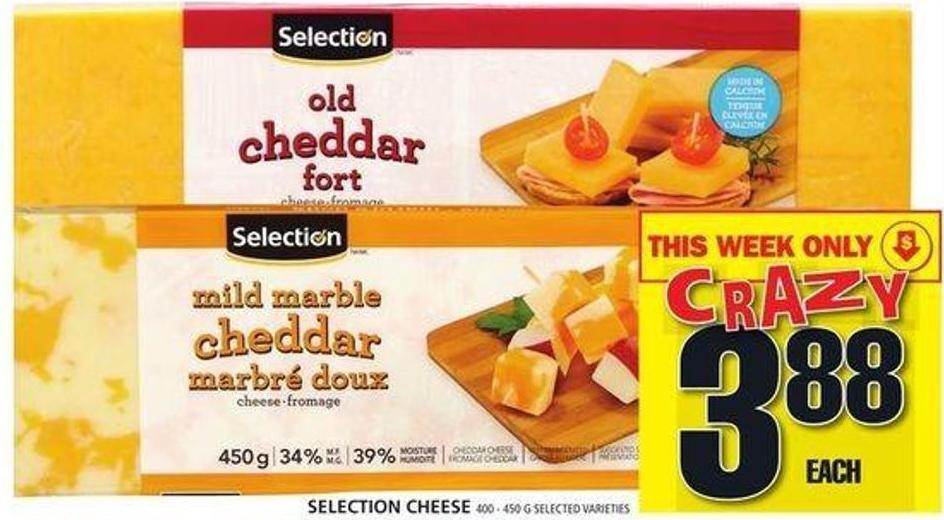 Selection Cheese