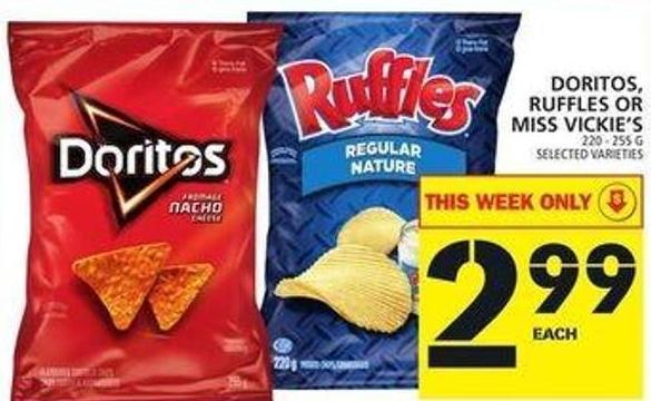Doritos - Ruffles Or Miss Vickie's