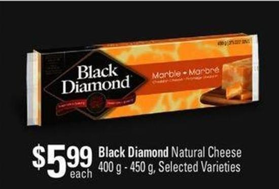 Black Diamond Natural Cheese - 400 G - 450 G