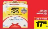 Tidy Cats Lightweight Clumping Litter - 5.44 Kg