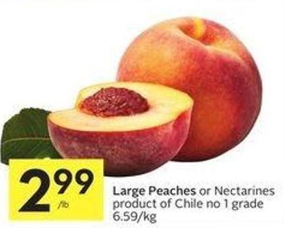 Large Peaches
