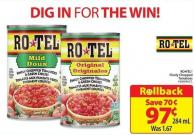 Rotel Finely Chopped Tomatoes 284 ml