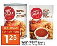 Swiss Chalet Sauces 32-51 g or Gravy 284 mL