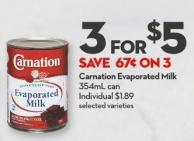 Carnation Evaporated Milk 354ml Can