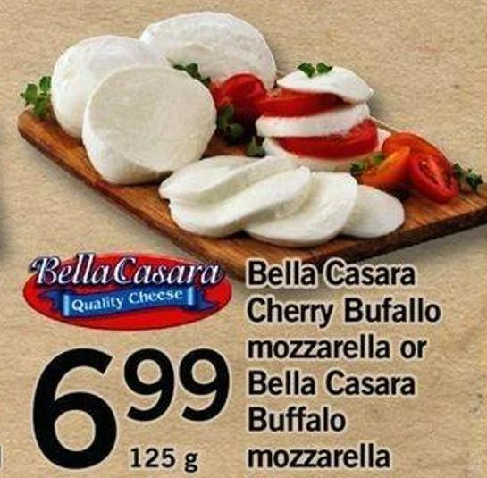 Bella Casara Cherry Bufallo Mozzarella Or Bella Casara Buffalo Mozzarella - 125 G