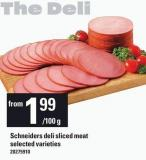 Schneiders Deli Sliced Meat