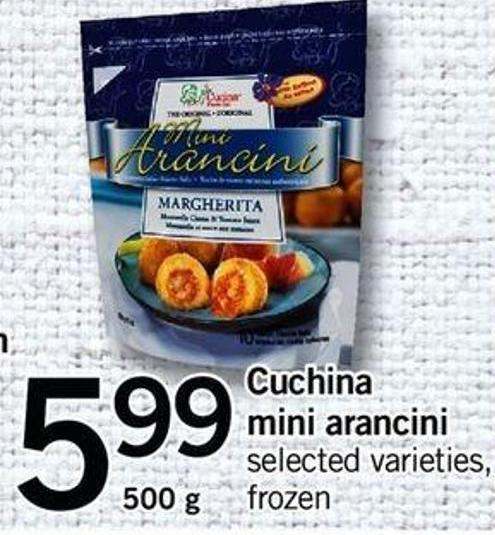 Cuchina Mini Arancini - 500 G