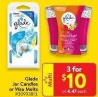 Glade Jar Candles or Wax Melts