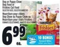 Purina Dog Or Puppy Chow Dog Food Or Friskies Cat Food