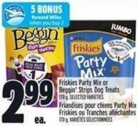 Friskies Party Mix Or Beggin' Strips Dog Treats 170 g
