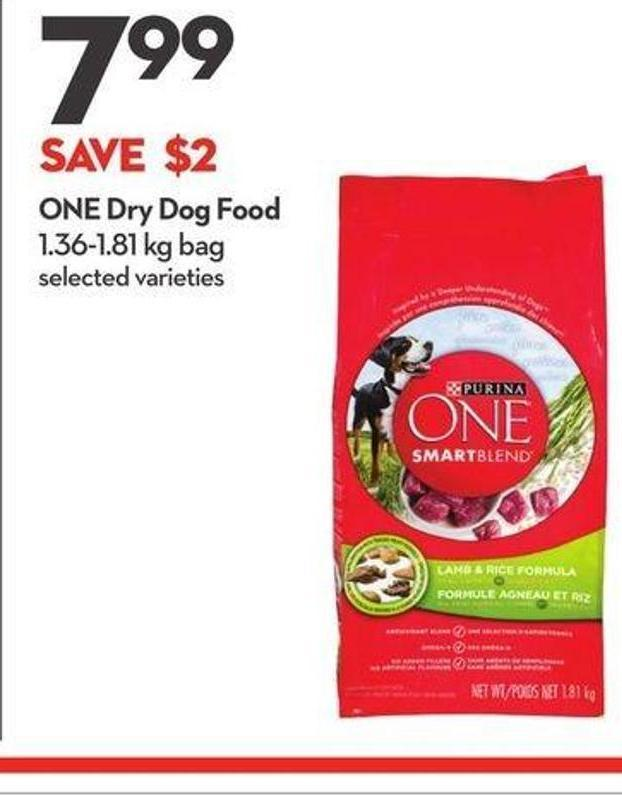 One Dry Dog Food