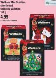 Walkers Mini Scotties Shortbread - 150 g