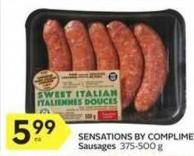Sensations By Compliments Sausages 375-500 g