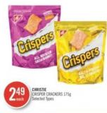 Christie Crisper Crackers 175 g