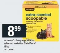 No Name Clumping Cat Litter