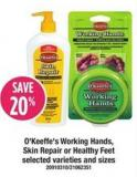 O'keeffe's Working Hands - Skin Repair Or Healthy Feet
