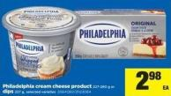 Philadelphia Cream Cheese Product - 227-280 G Or Dips - 227 G