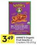 Annie's Organic Fruit Snacks