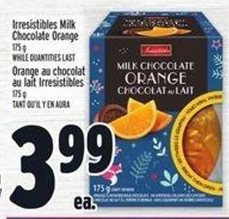 Irresistibles Milk Chocolate Orange
