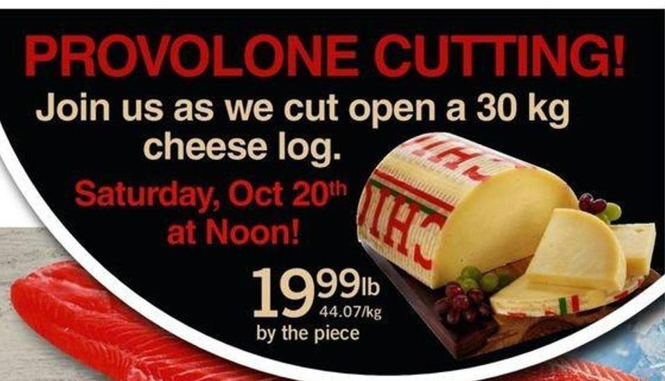 Provolone Cutting!