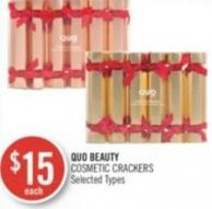 Quo Beauty Cosmetic Crackers