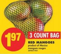 Red Mangoes - 3 Count Bag