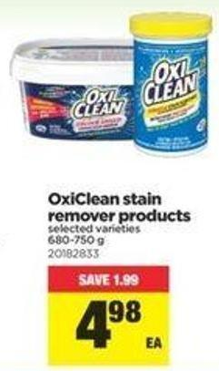 Oxiclean Stain Remover Products - 680-750 G