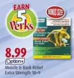 Option Muscle & Back Relief Extra Strength