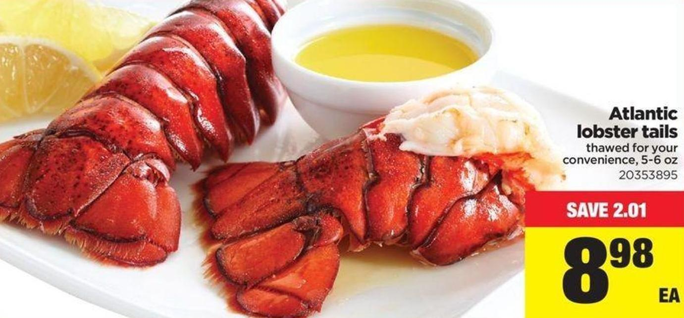 Atlantic Lobster Tails - 5-6 Oz