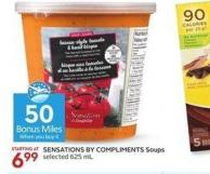 Sensations By Compliments Soups 625 mL - 50 Air Miles