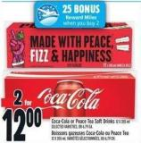 Coca-cola Or Peace Tea Soft Drink 12 X 355 ml