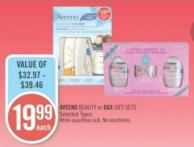 Aveeno Beauty or Ogx Gift Sets
