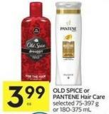 Old Spice or Pantene Hair Care