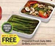 Prepared Fresh Daily Bbq Grillers